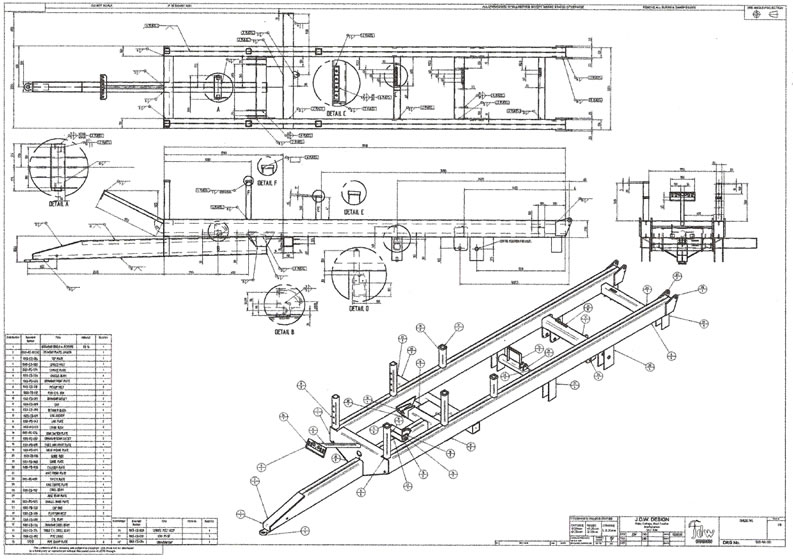 Design Assembly Drawing Sample Assembly Drawing